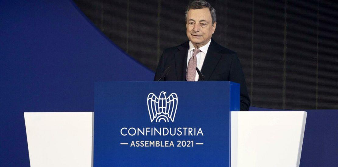 Mario Draghi Confindustria